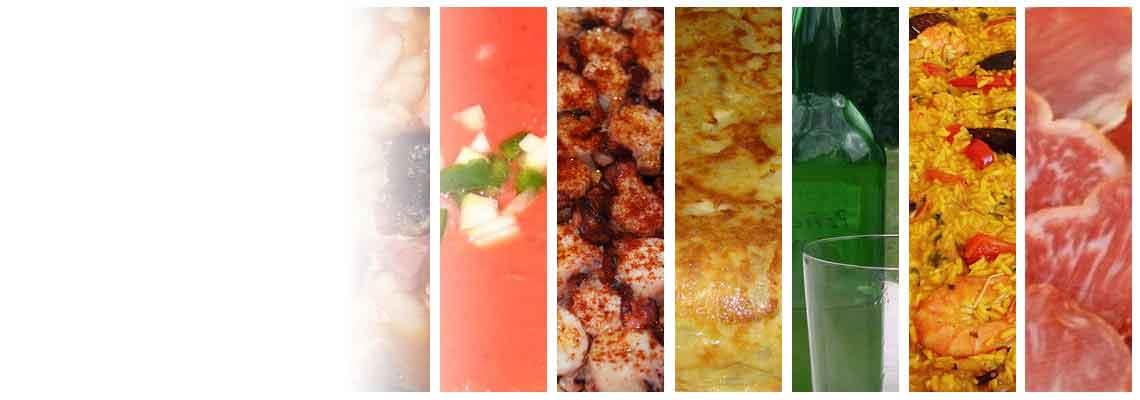 In mnogih drugih izdelkov, španščina gastronomije