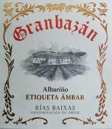 Belo vino Granbazan Etiqueta Ambar