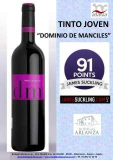 Rdeče vino Dominio de Manciles, Tinto Joven