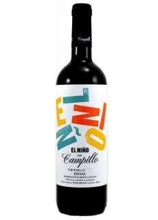Rdeče vino El Niño de Campillo