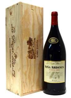 Rdeče vino Viña Ardanza  en caja de madera (Magnum)